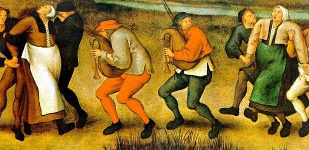 «Танцевальная чума», охватившая Европу