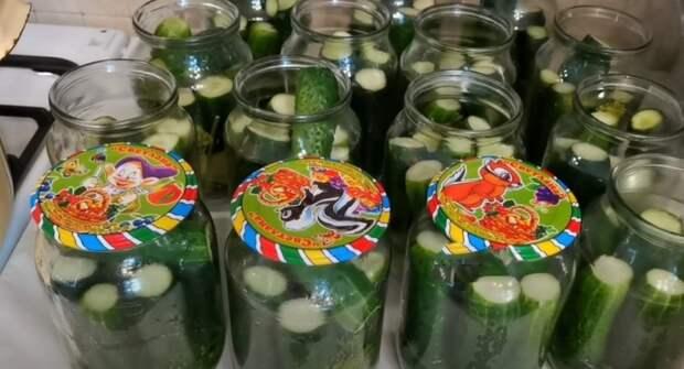 Хрустящие огурцы по-ташкентски. На зиму в томатном соке: понравится всей семье