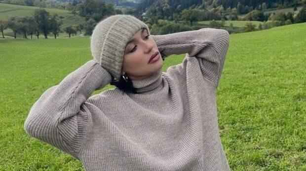 Беременная Серябкина показала романтический отдых смужем вавстрийских Альпах