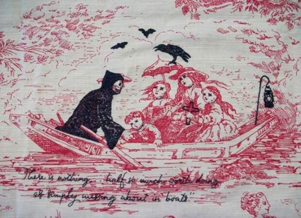Вышивки на туали (трафик)