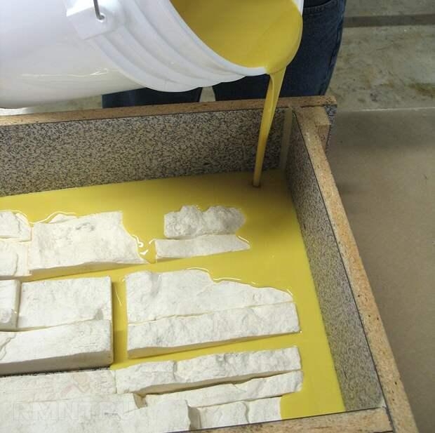 Как сделать форму для искусственного камня