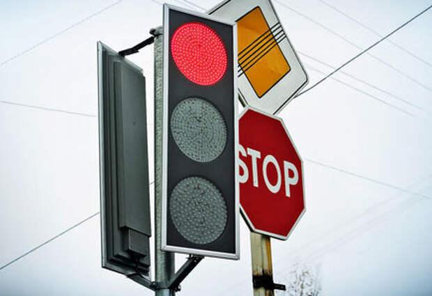В Москве установлены первые «умные» светофоры