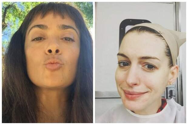 26 знаменитостей без макияжа: от Эмилии Кларк до Энн Хэтэуэй