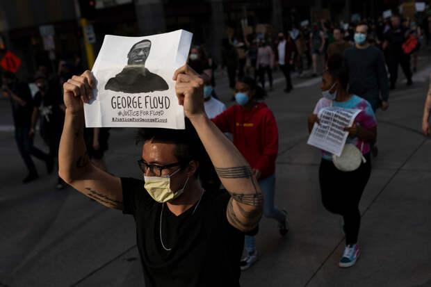 Мужчина погиб в Детройте в ходе протестов из-за смерти Джорджа Флойда