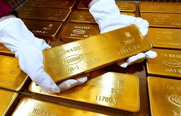 РФ в марте увеличила экспорт золота в два раза до 26,5 т