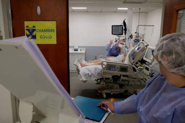 Число случаев COVID-19 в мире за сутки увеличилось на 808 тысяч