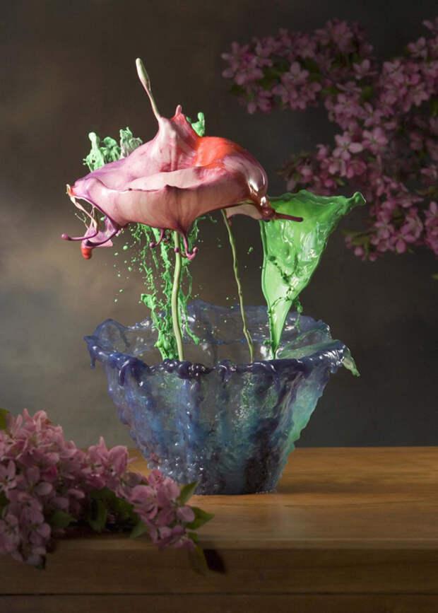 """1. Хотя эти """"цветы"""" сами по себе удивительны, именно способность Лонга создавать цветочные"""