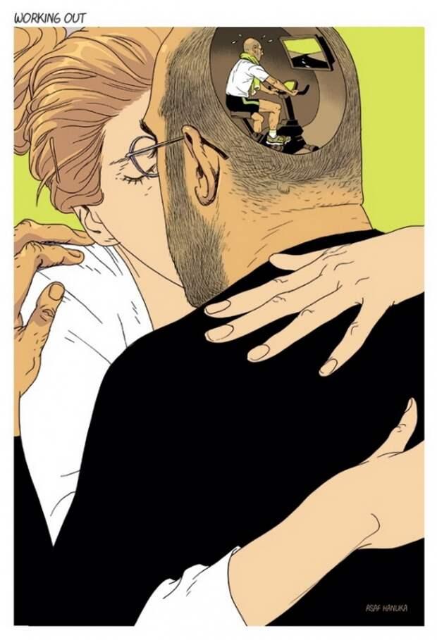 Злободневщина в красках: 13 хлестких карикатур на кричащие проблемы современного общества.