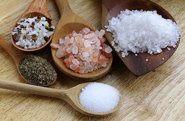 Cнижаем вред от соли в еде