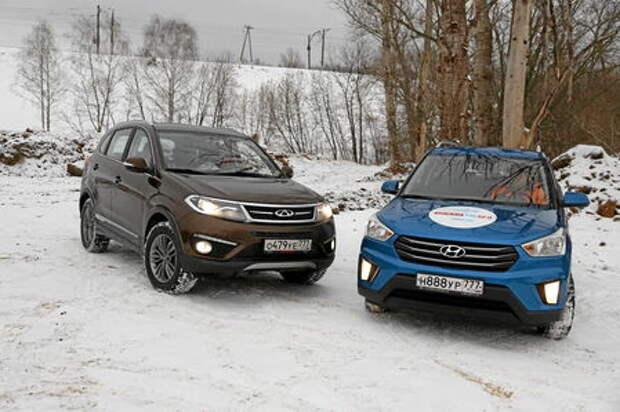 Chery Tiggo 5 против Hyundai Creta: что в конфетной обертке?
