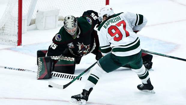 Олимпийский чемпион Кожевников похвалил Капризова за первую драку в НХЛ