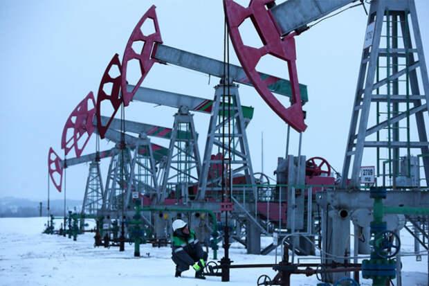 Добыча нефти в ХМАО