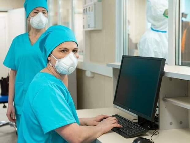 Более 1300 москвичей госпитализировали с коронавирусом за сутки
