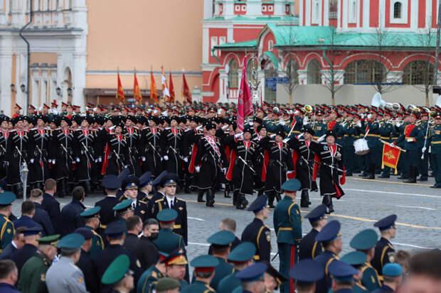 Кубанские казаки приняли участие в Параде Победы в Москве