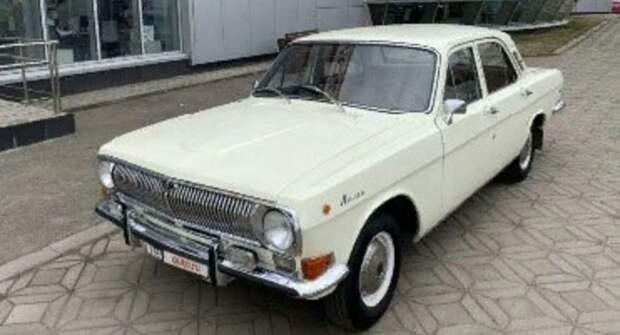 Отреставрированный ГАЗ-24 «Волга» выставили на продажу за 1,25 млн рублей