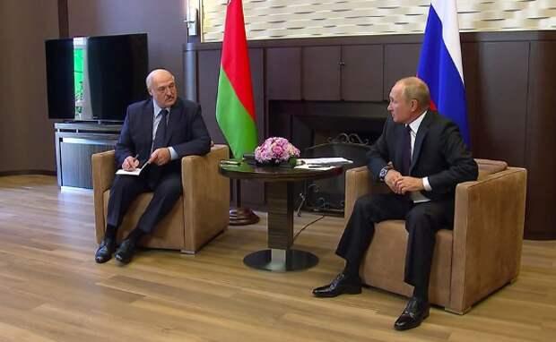 Александр Лукашенко и Владимир Путин. Фото:Kremlin Pool/Global Look Press/www.globallookpress.com