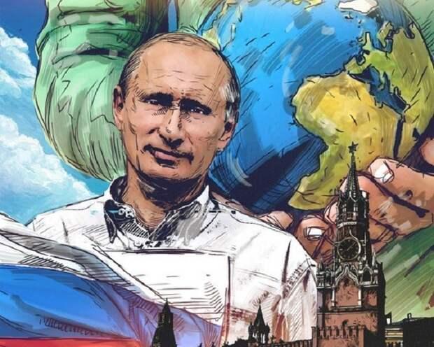Владимир Путин научит жизни «зеленого» Эммануэля Макрона