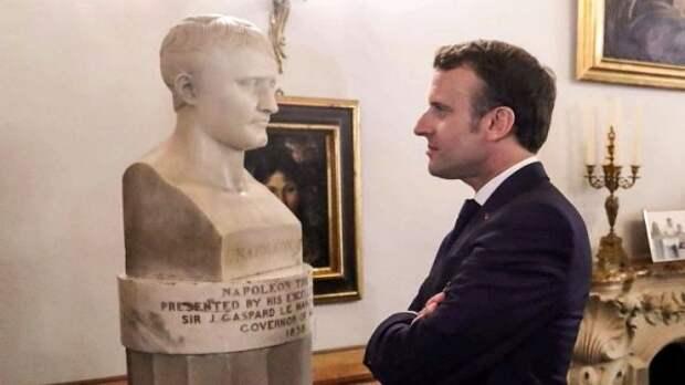 Речь Макрона вгодовщину смерти Наполеона иееполитическое значение