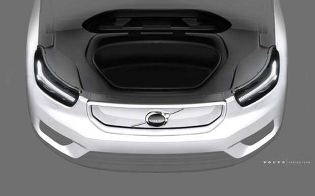 У нового Volvo XC40 багажник будет впереди. И сзади