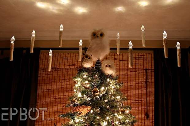 декор в стиле гарри поттера интерьер к празднику