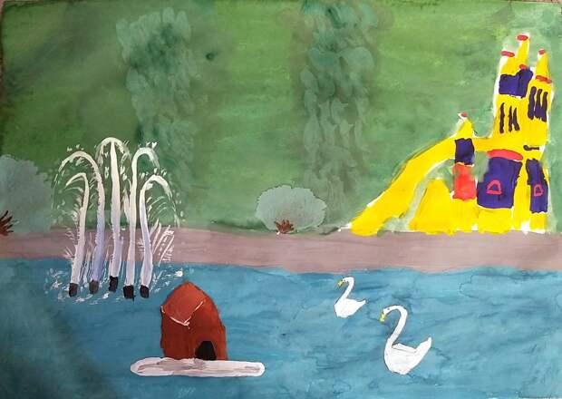 Выставка детских рисунков откроется летом в Лианозовском парке Фото: Юлия Мартынова