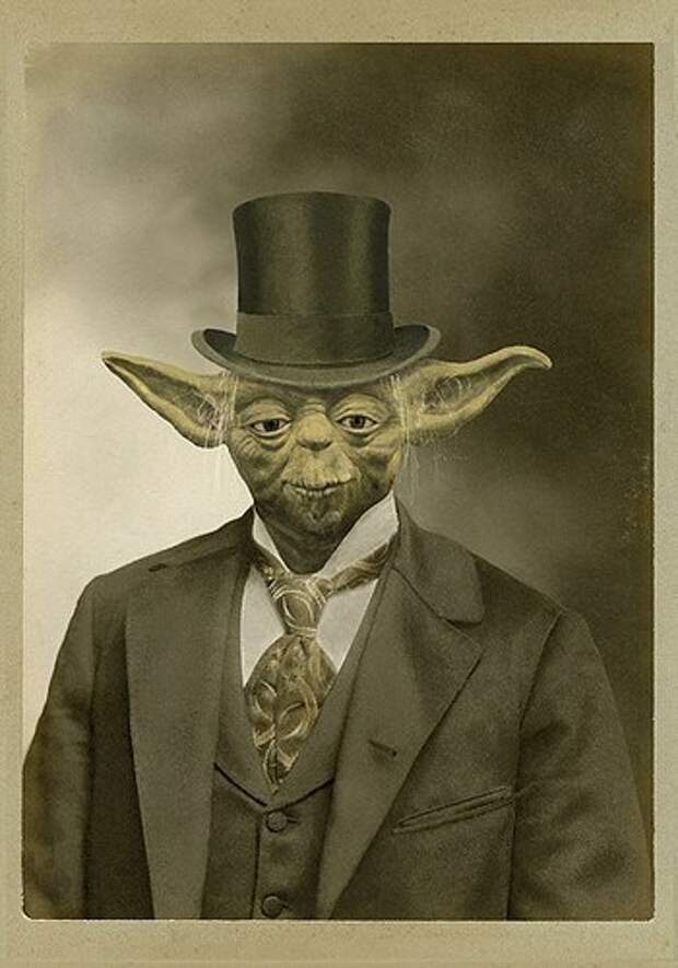 Портреты персонажей Звездных Войн в духе Викторианской эпохи.