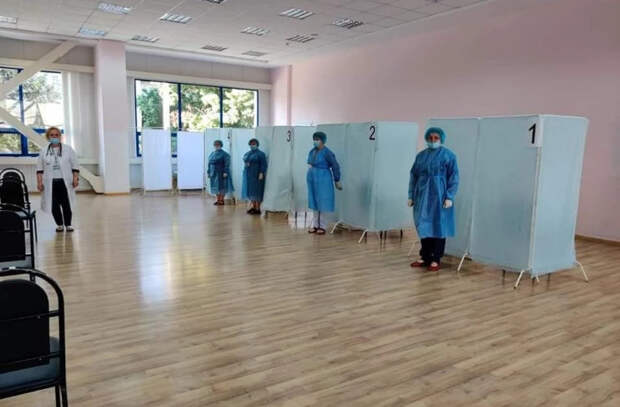 Сколько человек вакцинировано до этого часа на марафоне в Комрате и Каушанах