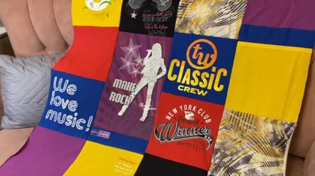 Старые футболки — сокровище! Гениальное и красивое шитье