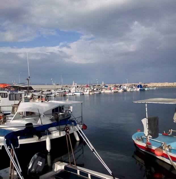 Кипр зимой (январь).