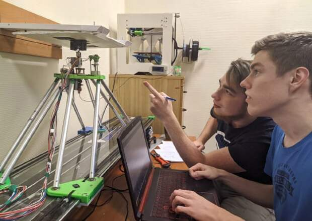 Молодые ученые из Лефортова создают 3D-принтер для печати самолетов
