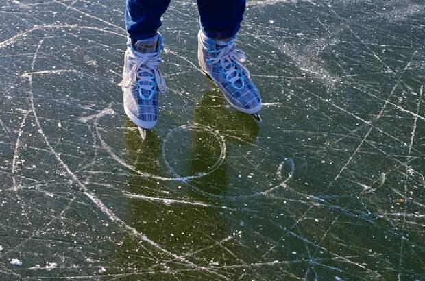 Катание На Коньках, Коньки, Зимние Виды Спорта, Досуг
