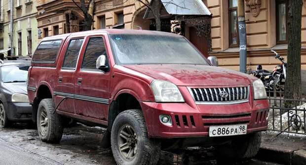 Китайский пикап Dadi Smoothing, который не смог завоевать любовь российских водителей