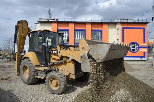 В Адыгее завершается реконструкция здания спортшколы по вольной борьбе