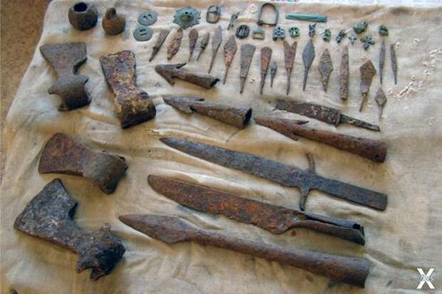 Археологические находки с Куликова поля