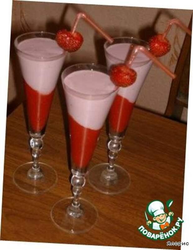 Безалкогольные напитки. Ягодный коктейль