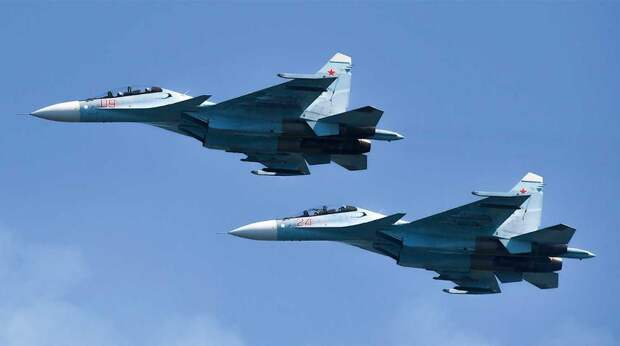 Су-30СМ упал в Казахстане