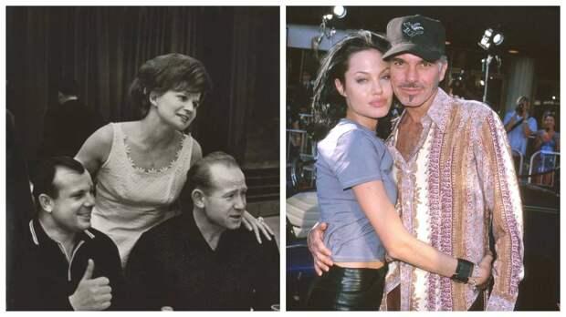 14 архивных фото звезд: кого любила Джоли до Питта, молодой Познер и другие