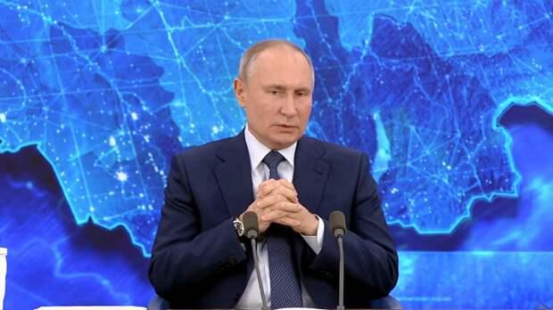 Раскрыт заработок Путина за 2020 год
