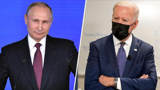 """Байден заявил, что """"всегда готов"""" к встрече с Путиным"""