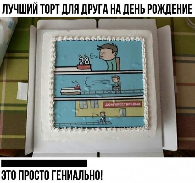 Торты для взрослых