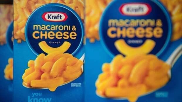 8. Макароны с сыром начали продавать в упаковках