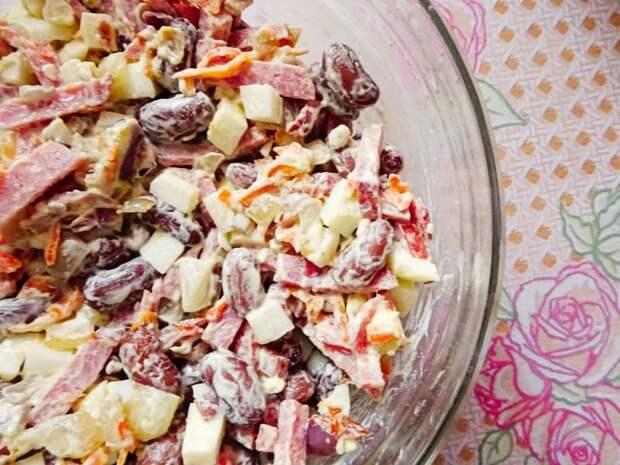 Салат Сытный. Этот салат легко может заменить полноценный ужин 2
