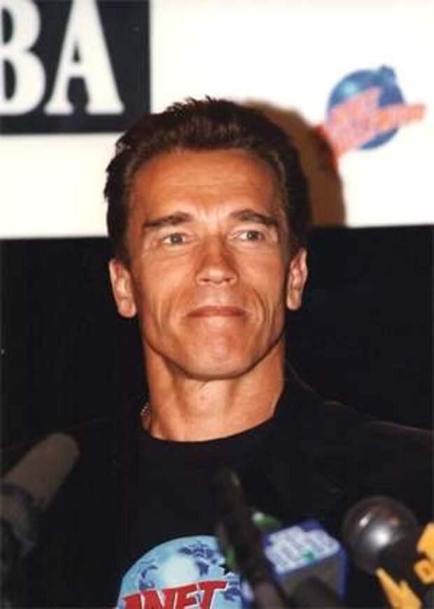 Арнольд Шварцнеггер в Москве: 1996 год