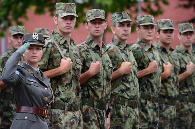 Сербия отказалась от участия в военных учениях с Белоруссией