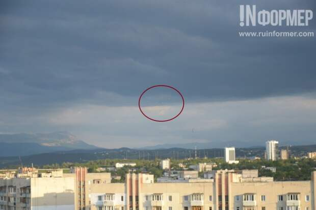 Над Симферополем обнаружены НЛО – гуманоиды тоже решили отдохнуть в Крыму? (фото)