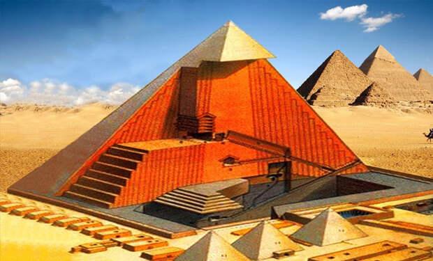 Как строили пирамиды в Египте: археологи нашли механизмы создателей
