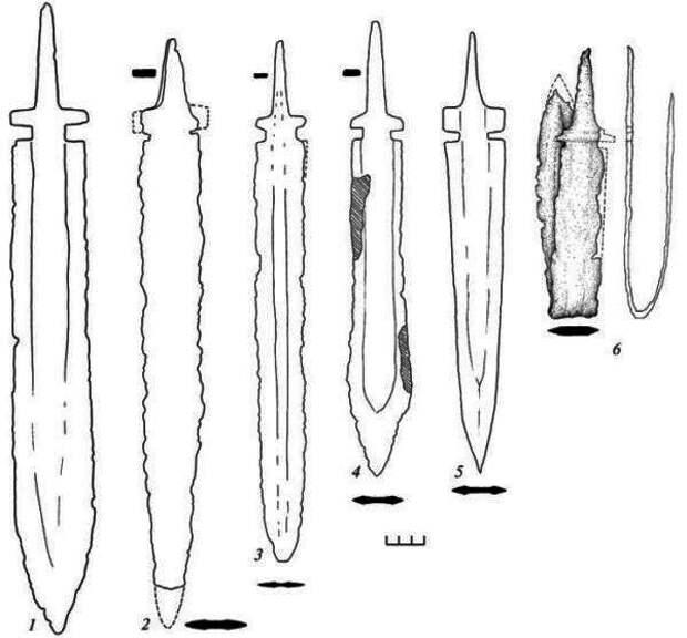 Зачем? Мечи V века с вырезами на клинке: загадка оружиеведения