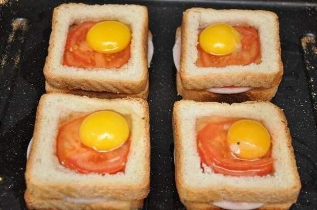 Потрясающие бутерброды к завтраку