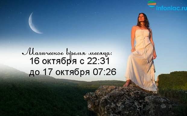 Лунный календарь повседневности в октябре 2020 году.