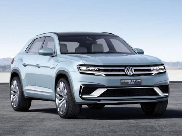 VW представил в Детройте новый большой кроссовер